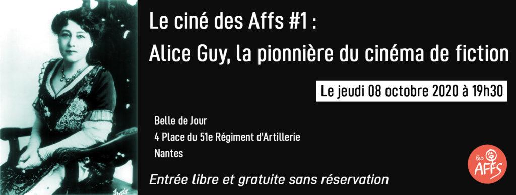 Alice Guy - Jeudi 8 octobre